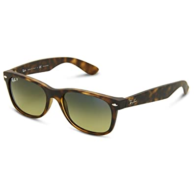1824cc8dde65 Image Unavailable. Image not available for. Color: Ray Ban Wayfarer RB2132  894/76 Havana/Blue-Green Mirror Polarized Sunglasses