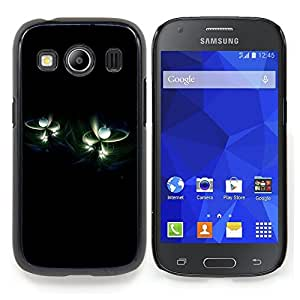 Stuss Case / Funda Carcasa protectora - Universo Perlas Minimalista Negro - Samsung Galaxy Ace Style LTE/ G357