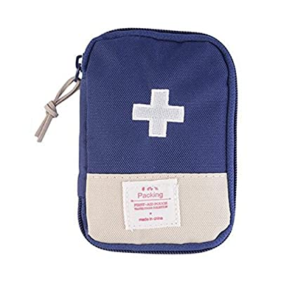 1x Portable Mini Emergency Survival First Aid Kit Travel Medical Sports Bag Case Pouch