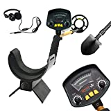 Metal Detector MD-3009II Gold Detectors Treasure Finder Detectors Within 8 Inches Adjustable Sensitivity And Headphone Jack