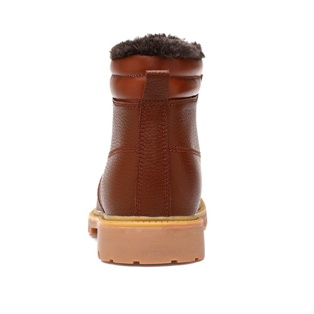 Ailishabroy Männer Klassische Winter Winter Winter warme Schuhe Herren Schnee Kurze Stiefel 4a8e5f