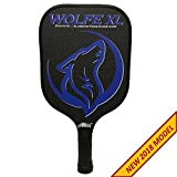Wolfe XL Graphite Pickleball Paddle - Blue w/ Cover