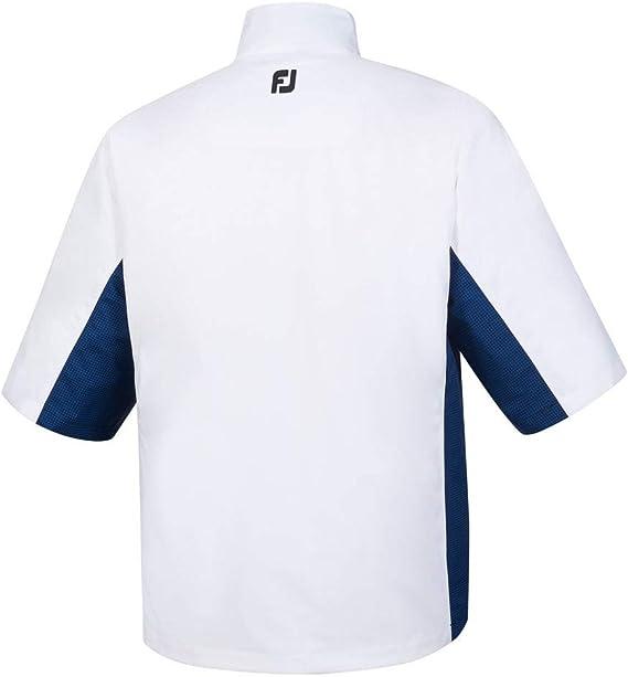 Footjoy Hydrolite - Camisa Impermeable de Manga Corta para Hombre