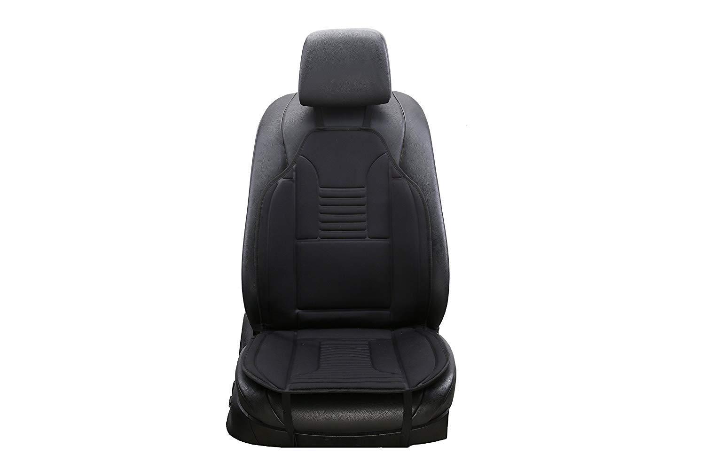 Hoovo Riscaldato Coprisedile per Sedile Anteriore Auto 12V con Termostato (2 PCS)