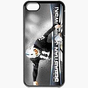 Personalized iPhone 5C Cell phone Case/Cover Skin 14485 sebastian janikowski by wackleschwantz d5cr3mv Black