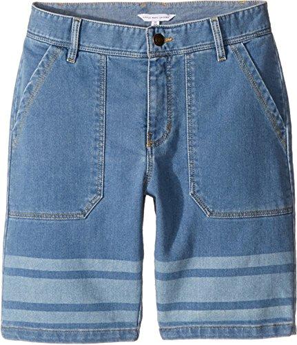 Price comparison product image Little Marc Jacobs Boy's Denim Effect Shorts (Big Kids) Bleach Shorts