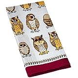 Ulster Weavers Owls Arrived Linen Tea Towel