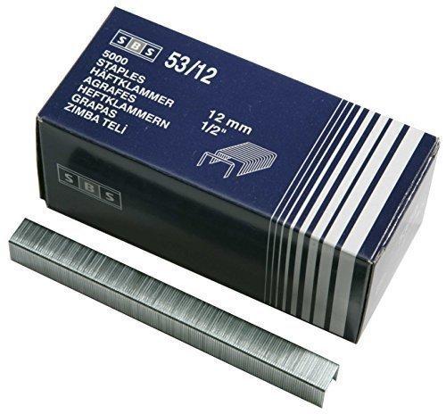 5000 pz. SBS Graffette Tipo 53 12mm Staples Handtackerklammern graffette