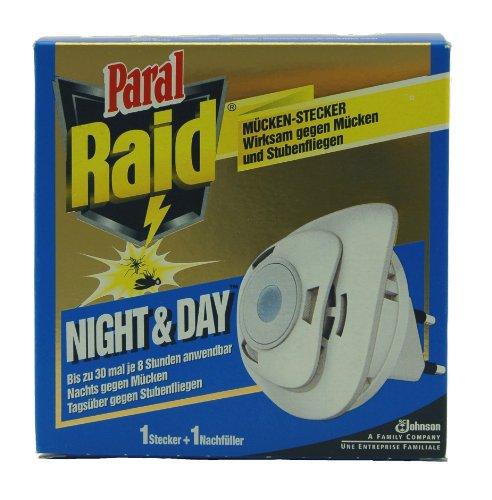 raid® day & night insekten stecker inkl. 1 nachfüller/ starter kit ... - Mücken Im Schlafzimmer