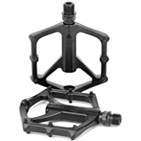 """Bike Pedals 9/16"""" Aluminium Alloy Bicycle Flat Pedals for Mountain/Road Bike BMX MTB (1 Pair)"""