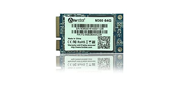 ARBUYSHOP mSATAII ssd SATAII SMI2244LT MsataII SSD de 64 GB unidad ...