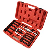 XtremepowerUS 16 Pcs Bearing Extractor Removal Bushes Slide Hammer Puller