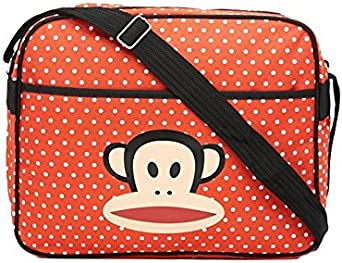 Paul Frank - Bolso bandolera Multicolor Rojo Y Blanco M: Amazon.es: Ropa y accesorios
