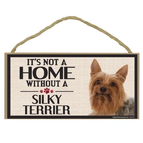 Imagine This Wood Sign for Silky Terrier Dog Breeds