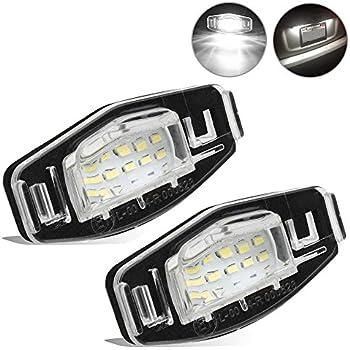 Amazon.com: 2pcs Car License Plate Light for Honda Civic ...
