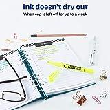 Avery Hi-Liter, Smear Safe Ink, Chisel Tip, 12