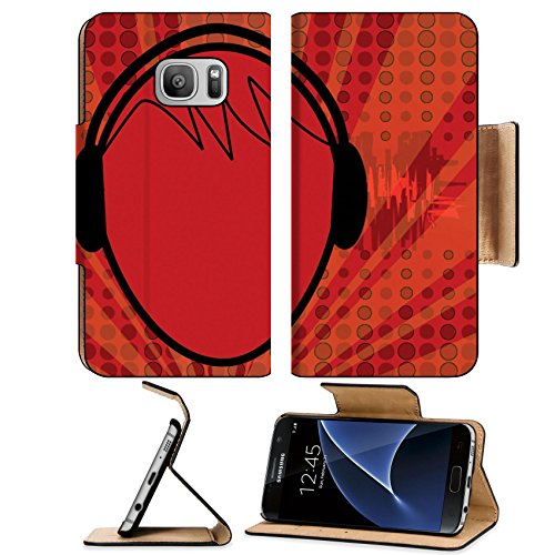 Liili Premium Samsung Galaxy S7 Flip Pu Leather Wallet Case Music Head Photo 1156082 Simple Snap Carrying