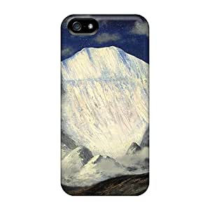 For Iphone Cases, High Quality Moonlit Himalayas For Iphone 5/5s Covers Cases