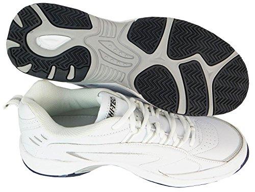 De Blast Multisport tec Lite Chaussures Homme Hi Pour Air Blanc Plein YEqdxa