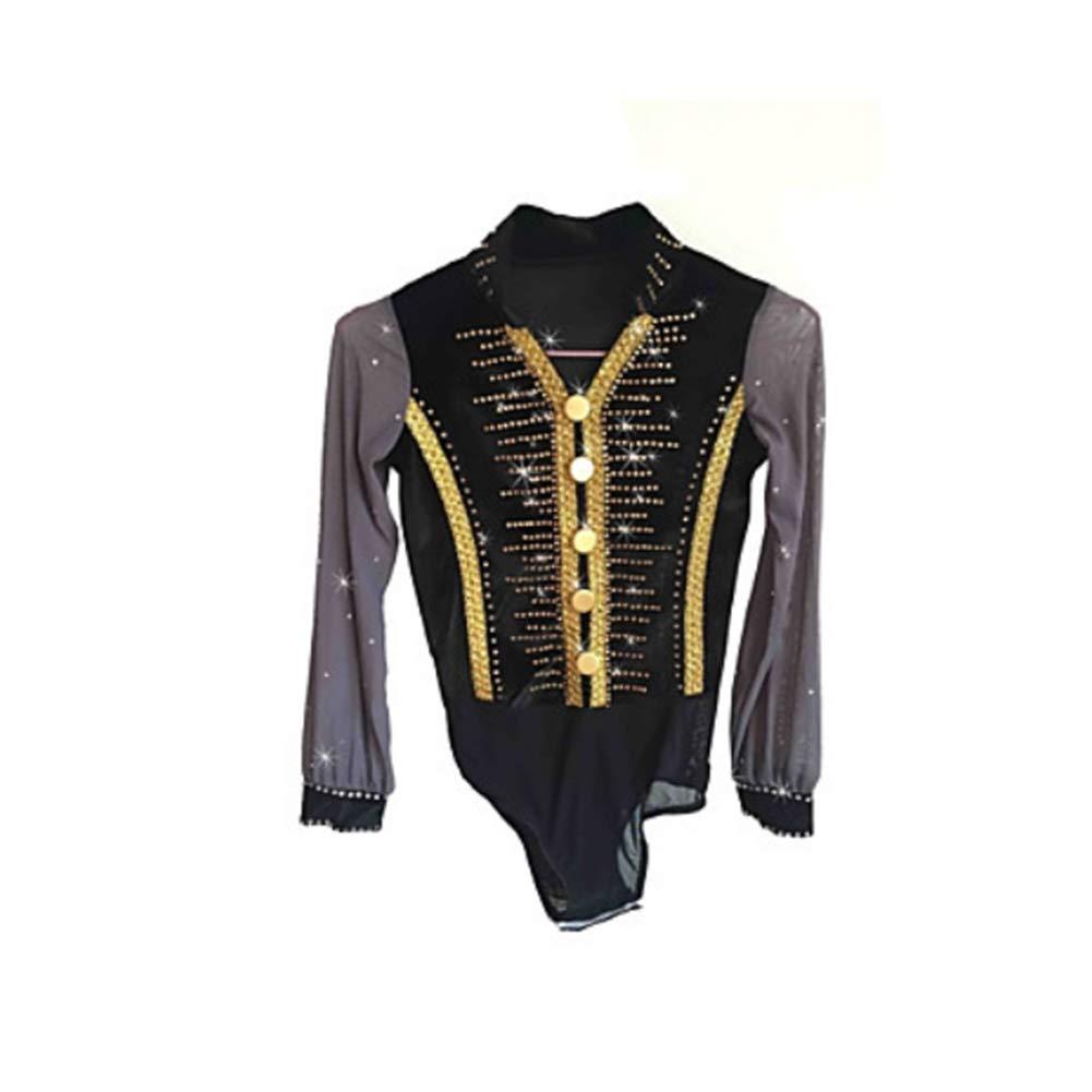 YUEZHIMEI Eiskunstlauf für Jungen Mann Eislaufen Eislaufen Eislaufen Performance Kostüm Professionell Stretch Atmungsaktiv B07P5BTTCF Bekleidung Modern 2a19d0