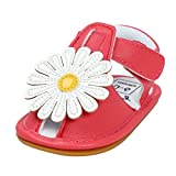 Baby Girls Sandals Infant Flower Non-Slip Soft Rubber Sole Summer Princess First Walking Shoes