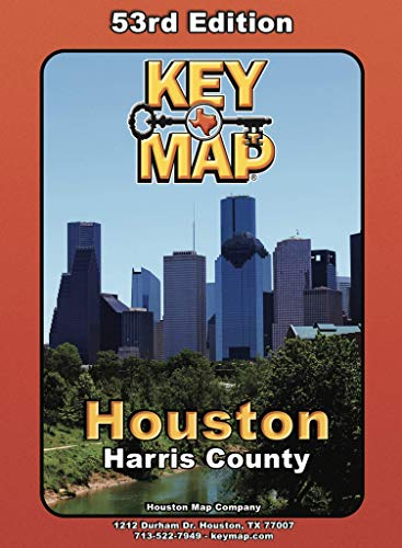 Key Map Houston, Harris County - Keys Map