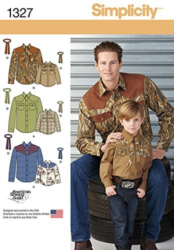 Amazon Simplicity American Sewing Guild Pattern 1327 Western
