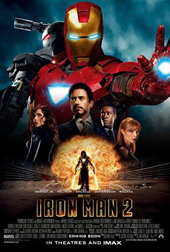 Iron Man 2 movie poster 11 inch x 17 inch ()