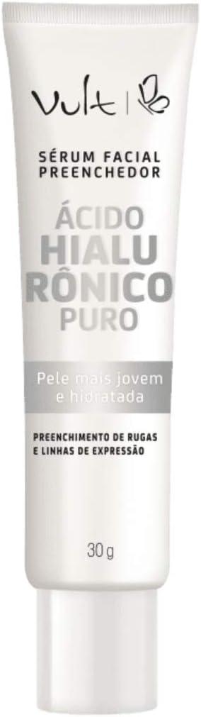 Vult sérum facial preenchedor ácido hialurônico puro, Vult