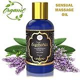 Euphoria Sensual Massage Oil - Silky Smooth Lubricant Sex Oil for Warming Sensual Massage
