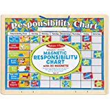 "Melissa & Doug Magnetic Responsibility Chart, Developmental Toy, Encourages Good Behavior, 90 Magnets, 15.6"" H x 11.7"" W x 1.2"" L"