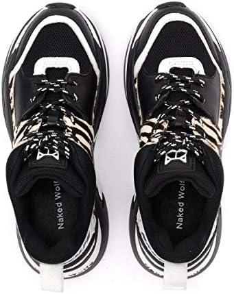 NAKEDWOLFE NWSTRACK Zebra Sneakers Donna