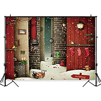 Amazon.com : Art Studio Christmas Outside The Window Full ...