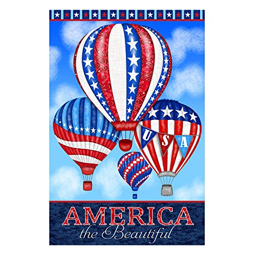America: Land of The Free 30'' Panel Patriotic Fabric ()