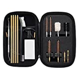 Raiseek 7.62x3.9 7.62MM AK47 Rifle Cleaning Kit Gun Cleaning Kit with Bore Chamber Brushes Metal Pick Kit Brass Cleaning Rod in Zippered Organizer Compact Case