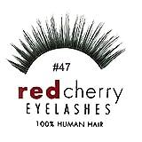 Red Cherry False Eyelashes #47 (Pack of 3)