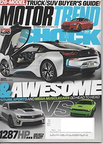Motor Trend Magazine, October 2014 (Vol 66, No 10)