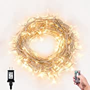 Amazon Lightning Deal 88% claimed: LOENDE WARM WHITE STRING LIGHTS TIMER