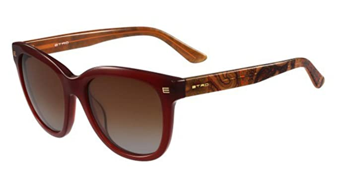 8167080cd35a Image Unavailable. Image not available for. Color: Sunglasses Etro ET 622 S  210 BROWN