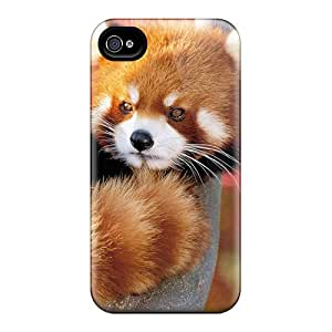 New Snap-on JosieGrilli Skin Cases Covers Compatible With Iphone 6- Red Panda