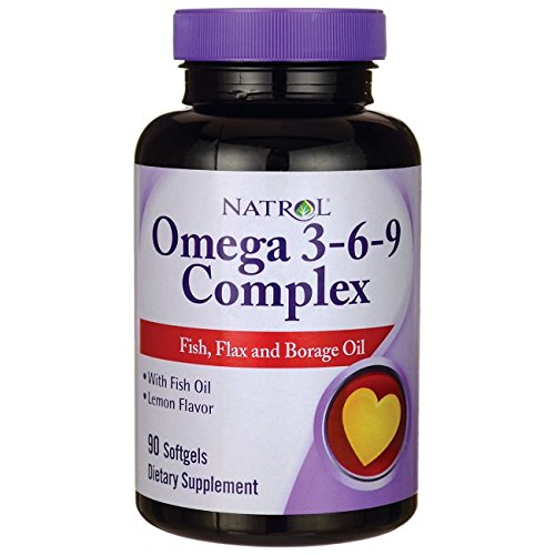 Natrol Omega 3 6 9 Complex Borage Softgels product image