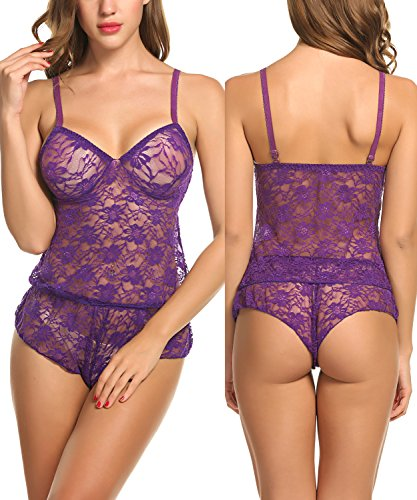 Avidlove Women Baby Doll Lingerie Sleepwear Pajamas Short - Sleep Panties