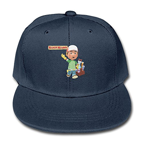 Price comparison product image Handy Manny Fashion Kid Baseball Adjustable Cap Summer Children Unisex Baseball Hat Strapback Hats Navy