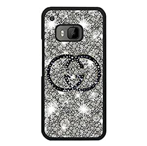 Moulded Phone Case for Htc One M9,Stylish Beauty Gucci Brand Logo Series Case,Gucci Logo Htc One M9 Cover Skin