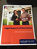Legal Aspects of Real Estate, California Real Estate Licensing Series, Eighth Edition Update, Kaplan Real Estate Education offers
