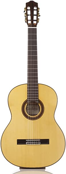 Cordoba Iberia F7 clásica para guitarra de nailon y funda: Amazon ...