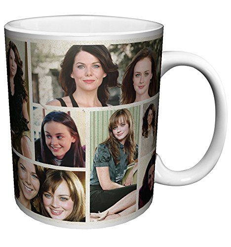 Gilmore Girls Lorelai and Rory Collage Comedy Drama TV Television Show Ceramic Gift Coffee (Tea, Cocoa) 11 Oz. Mug
