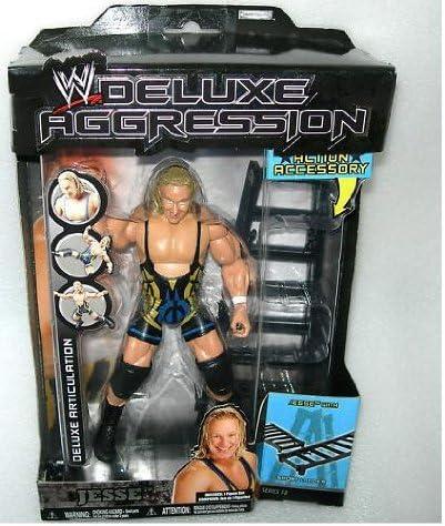 WWE - Deluxe Agresión Jesse con Corta Escalera - Serie 18: Amazon.es: Juguetes y juegos