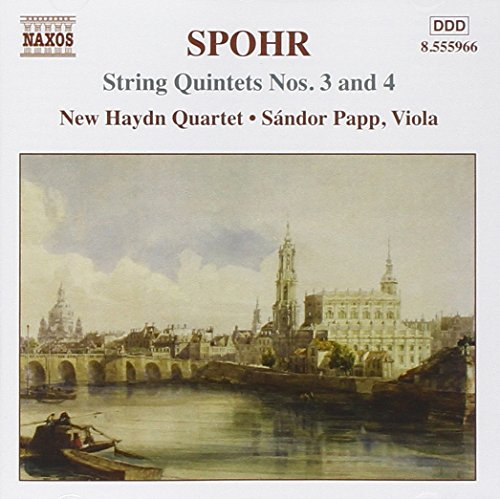 Price comparison product image Spohr: String Quintets 3 & 4