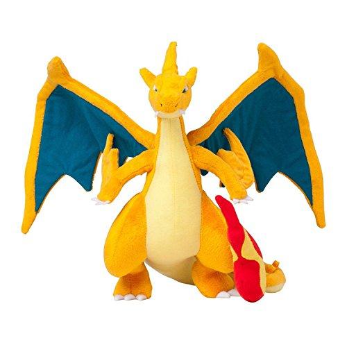 [25 CM, #006 Charizard X-Y Mega-Evolved Plush Doll (Mega Charizard Y)] (Pokemon X And Y Ash Costume)